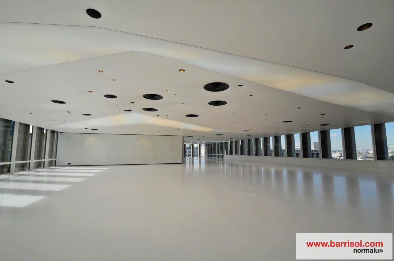 photos de r alisations avec le plafond tendu acoustique. Black Bedroom Furniture Sets. Home Design Ideas